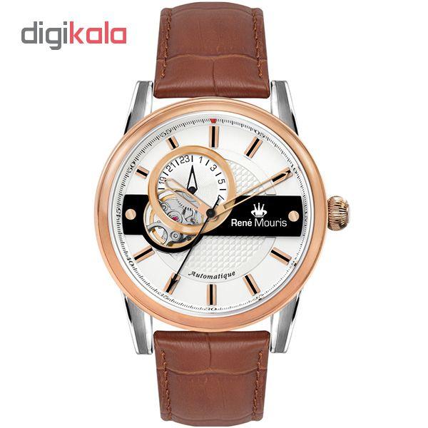 خرید ساعت مچی عقربه ای مردانه رنه موریس مدل Orion 70101 RM3
