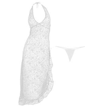 لباس خواب مگا سکرت  mega.secret زنانه مدل   03 -Queen-Ghost   white