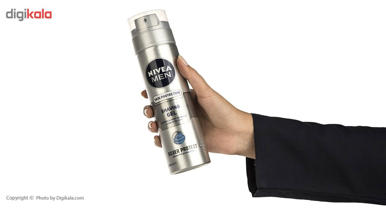 ژل اصلاح مردانه نیوآ مدل Silver Protect حجم 200 میلی لیتر main 1 3