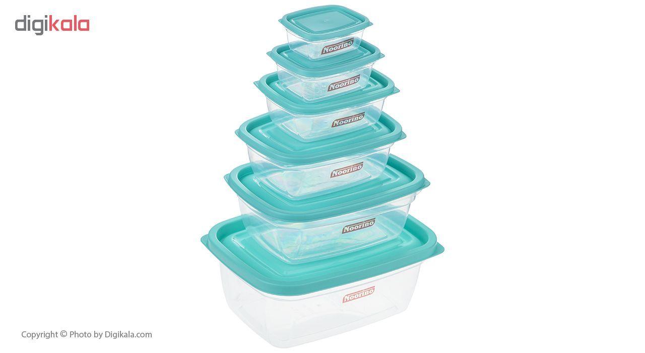 ظروف نگهدارنده  12 پارچه نورینو مدل آیرینا main 1 1