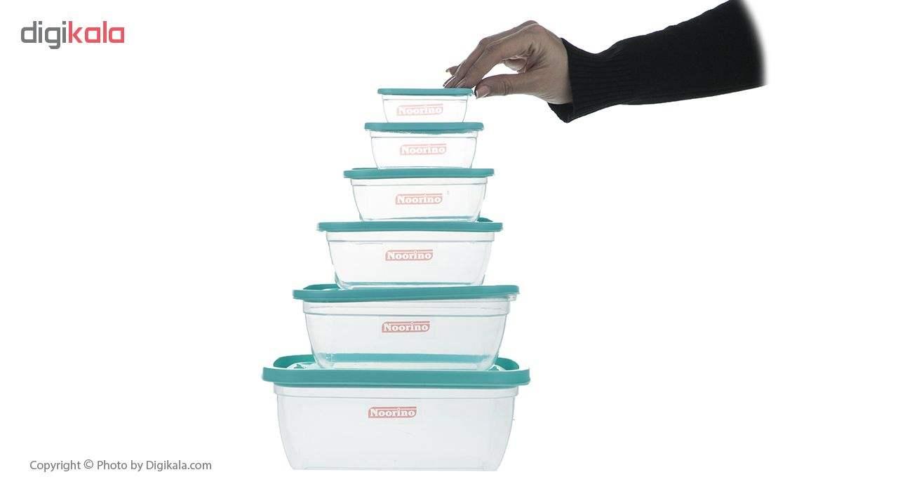 ظروف نگهدارنده  12 پارچه نورینو مدل آیرینا main 1 3