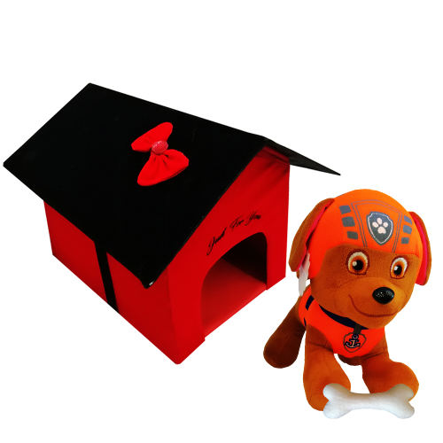 ست هدیه عروسک مدل DOGHOUSE -23