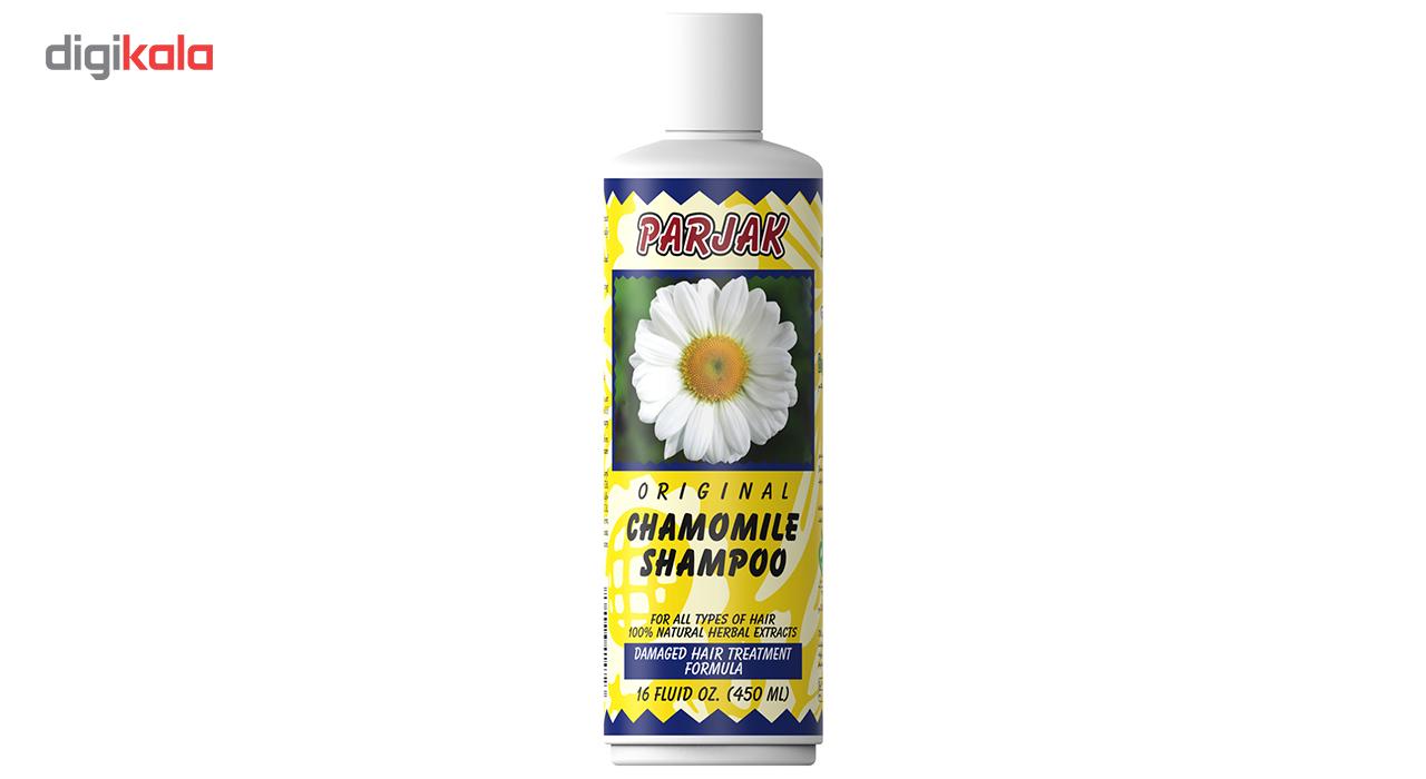 خرید                      شامپو پرژک مدل Chamomile مقدار 450 میلی لیتر