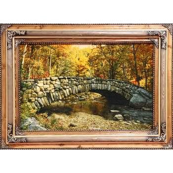 تابلوفرش دستبافت آنافرش طرح پل سنگی کد 11363
