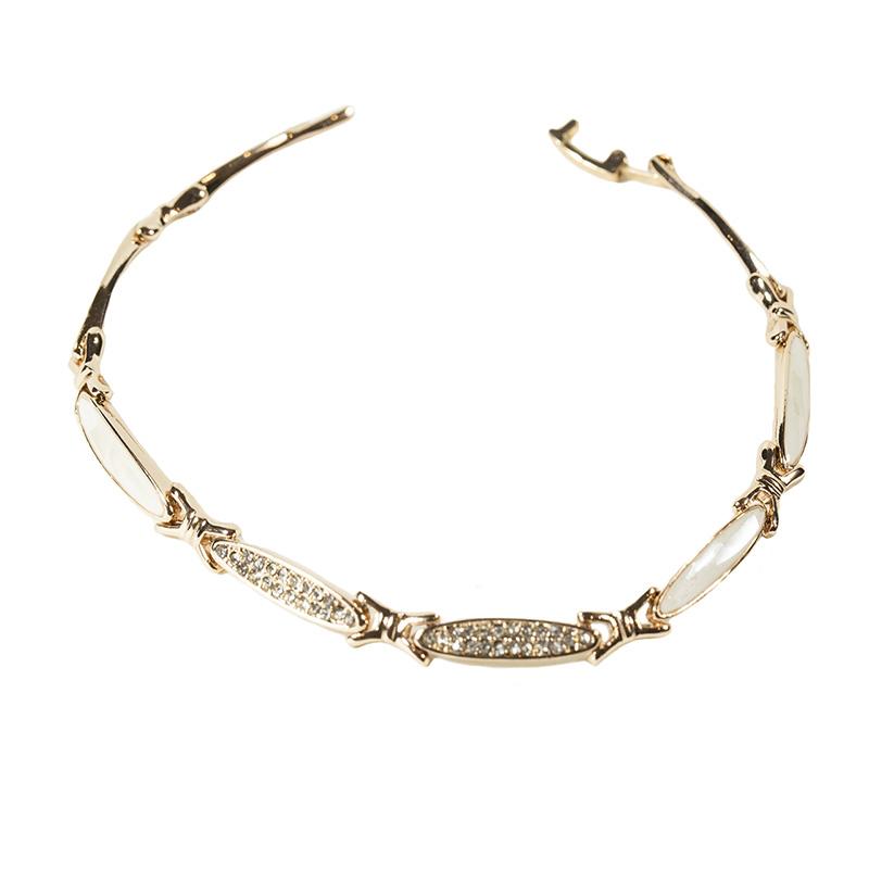 قیمت دستبند زنانه روزینی مدل B33