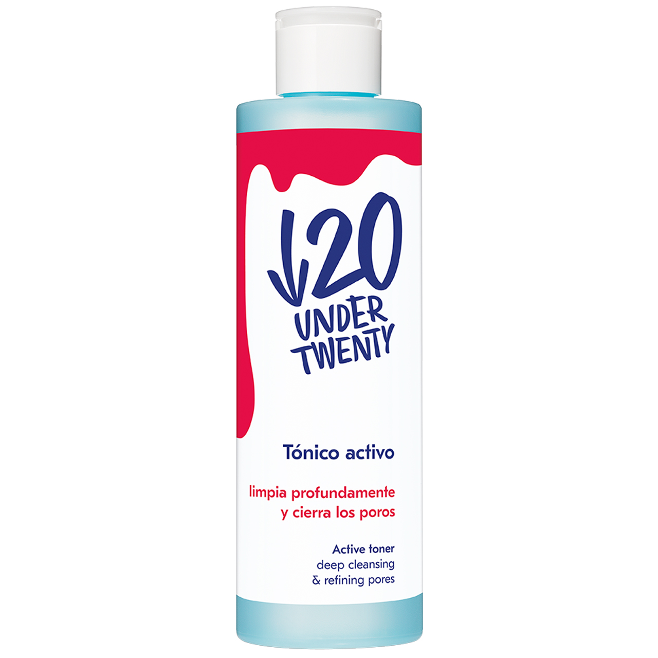 قیمت تونر پاک کننده پوست آندر 20 مدل Active Toner حجم 200 میلی لیتر