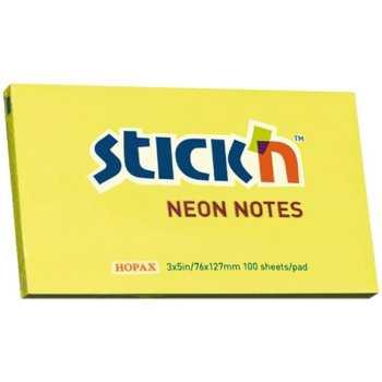 کاغذ یادداشت چسب دار هوپکس مدل Neon