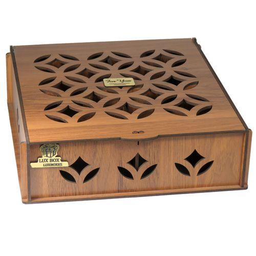 جعبه هدیه دمنوش چای کیسه ای لوکس باکس کد LB030