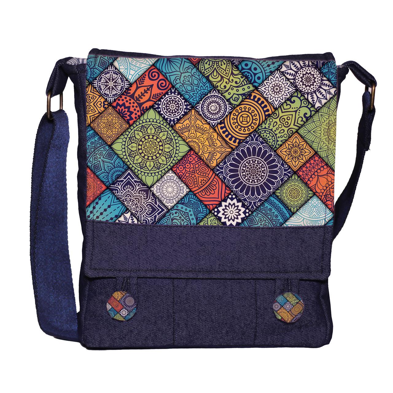کیف دوشی زنانه گالری چی چاپ کد 66001