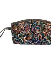 کیف لوازم آرایش زنانه طرح ترمه کد FSP411 -  - 1