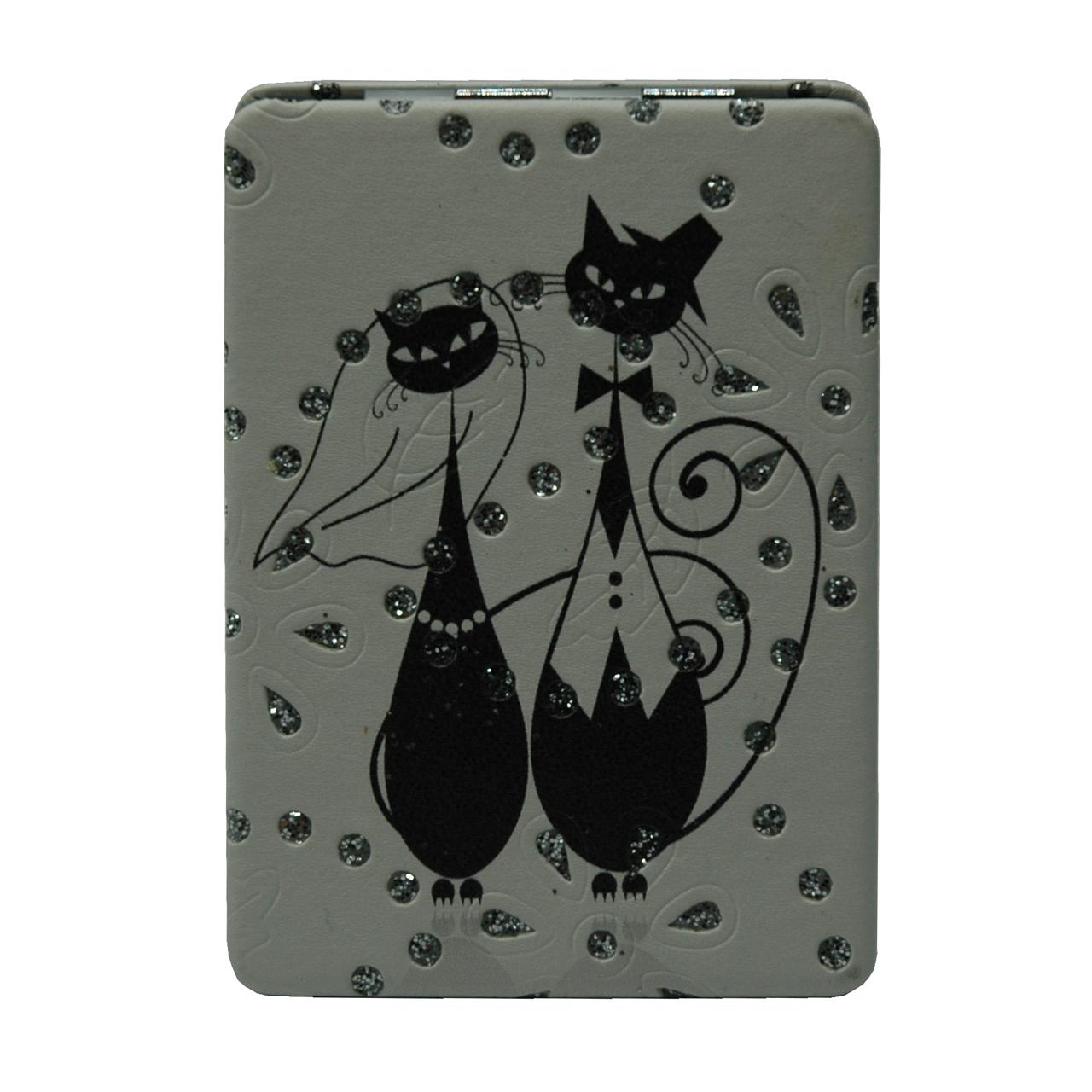 آینه جیبی طرح گربه مدل 8-233941