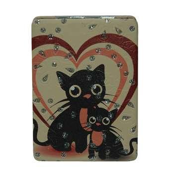 آینه جیبی طرح گربه مدل 10-233941 |