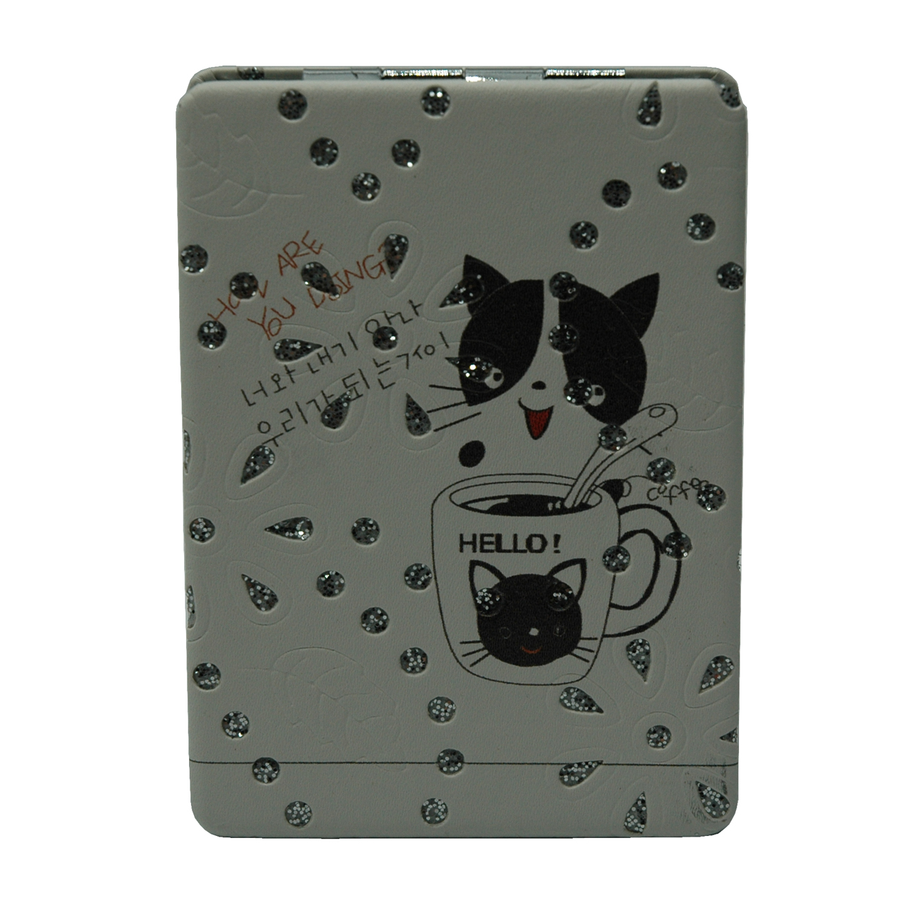 آینه جیبی طرح گربه مدل 11-233941