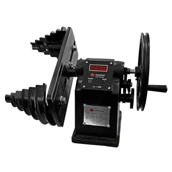 دستگاه سیم پیچی الکترو موتور برند گلداستار مدل WM-7R ( کلاف پیچ یا استاتور پیچ )