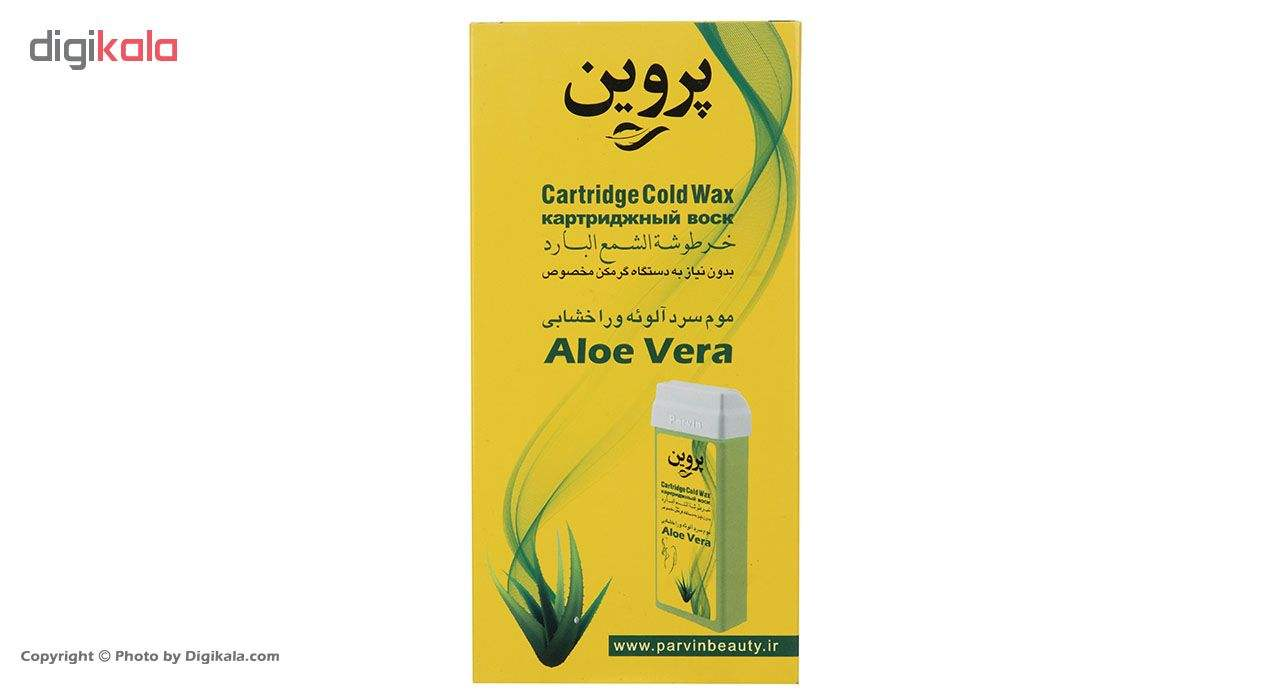 موم سرد خشابی پروین مدل Aloevera مقدار 150 گرم main 1 1