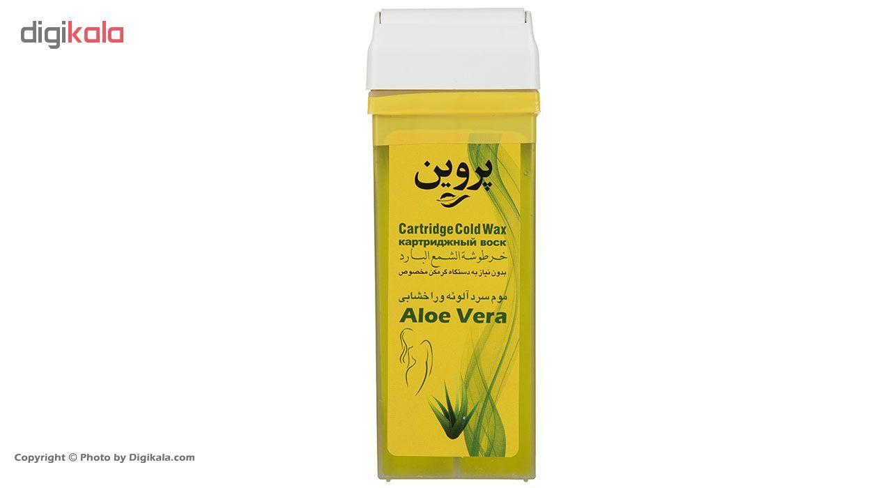 موم سرد خشابی پروین مدل Aloevera مقدار 150 گرم main 1 3