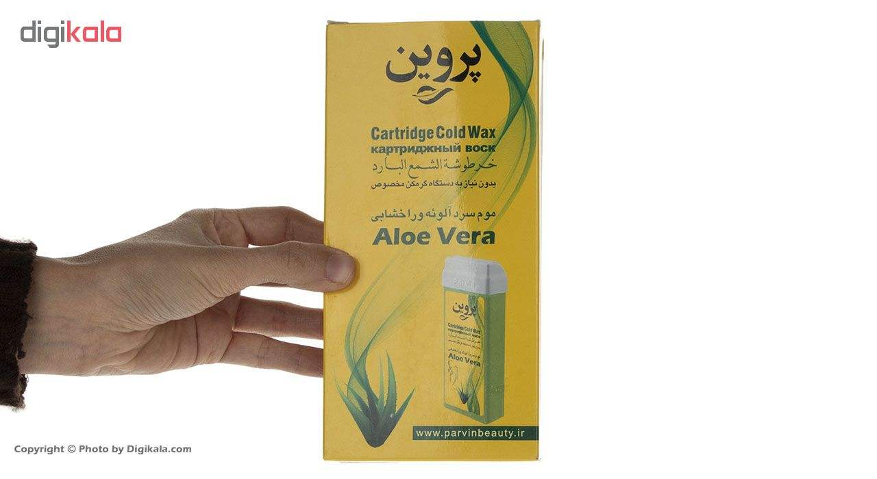 موم سرد خشابی پروین مدل Aloevera مقدار 150 گرم main 1 5