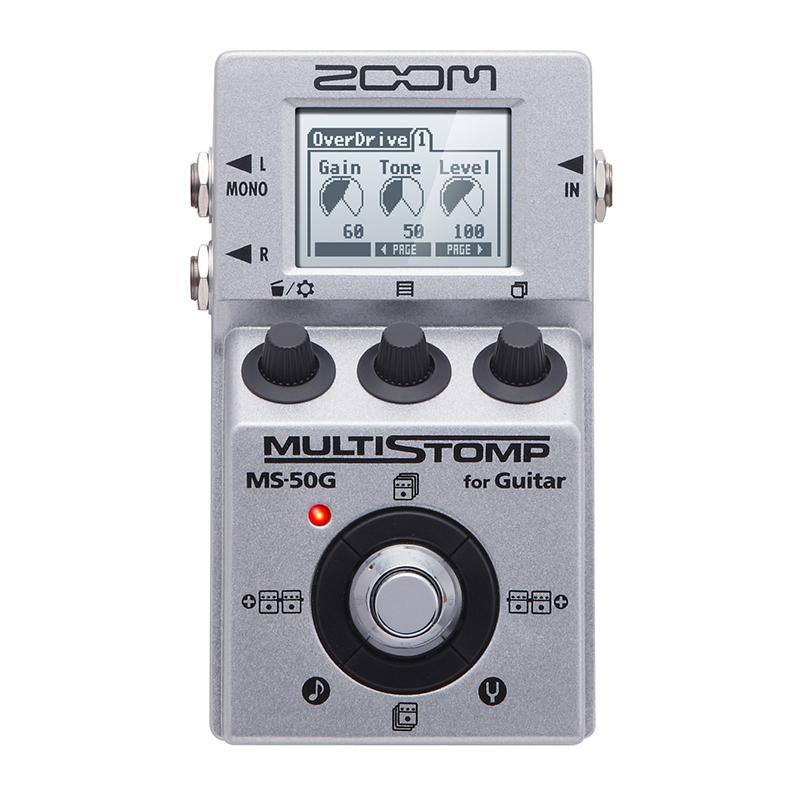 افکت گیتار الکتریک زوم Ms50g