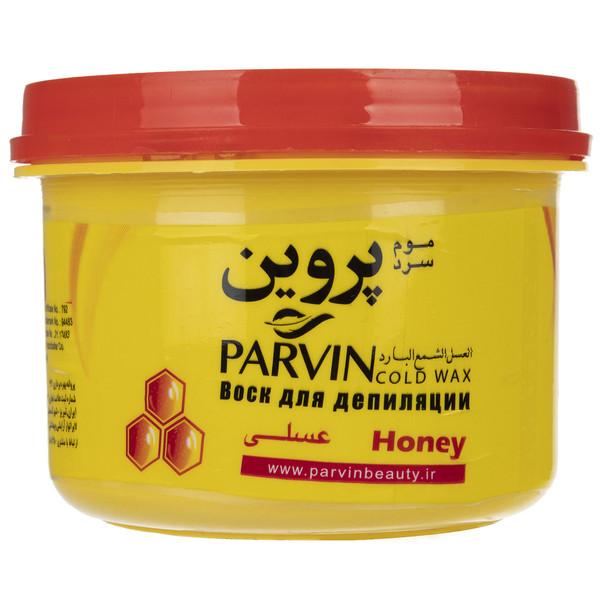 موم سرد پروین مدل Honey حجم 750 گرم