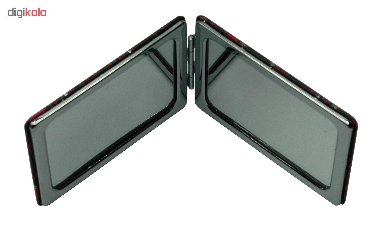 آینه جیبی طرح قلب مدل V233941-11