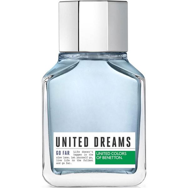 ادو تویلت مردانه بنتون مدل United Dreams Men Go Far حجم 100 میلی لیتر