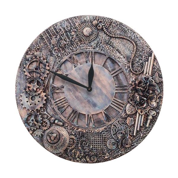 خرید ساعت دیواری طرح آنتیک کد 1490