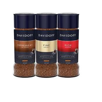 قهوه دیویدف مدل Rich-Fine-Esspresso مجموعه 3 عددی