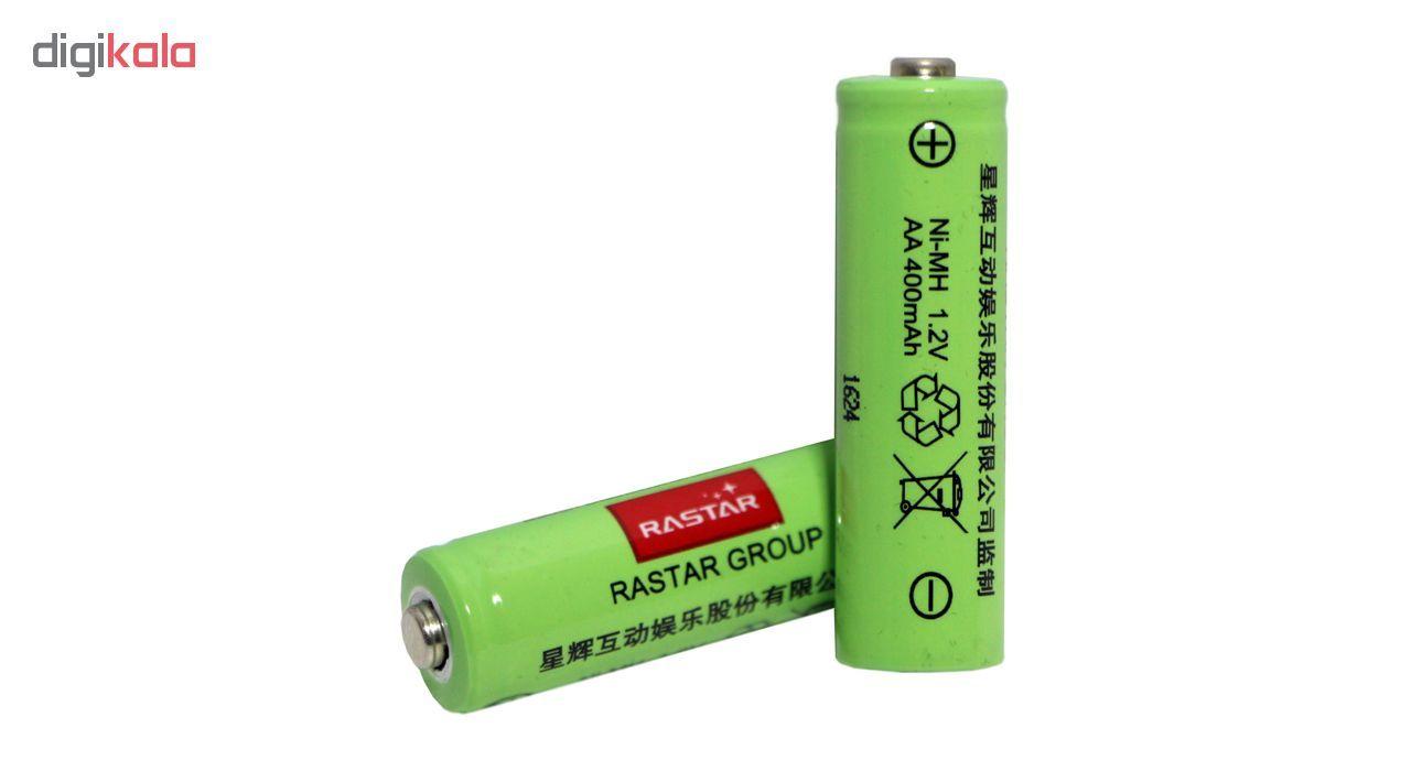 باتری قلمی رستار مدل RS-400mAh بسته 5 عددی به همراه شارژر باتری main 1 4