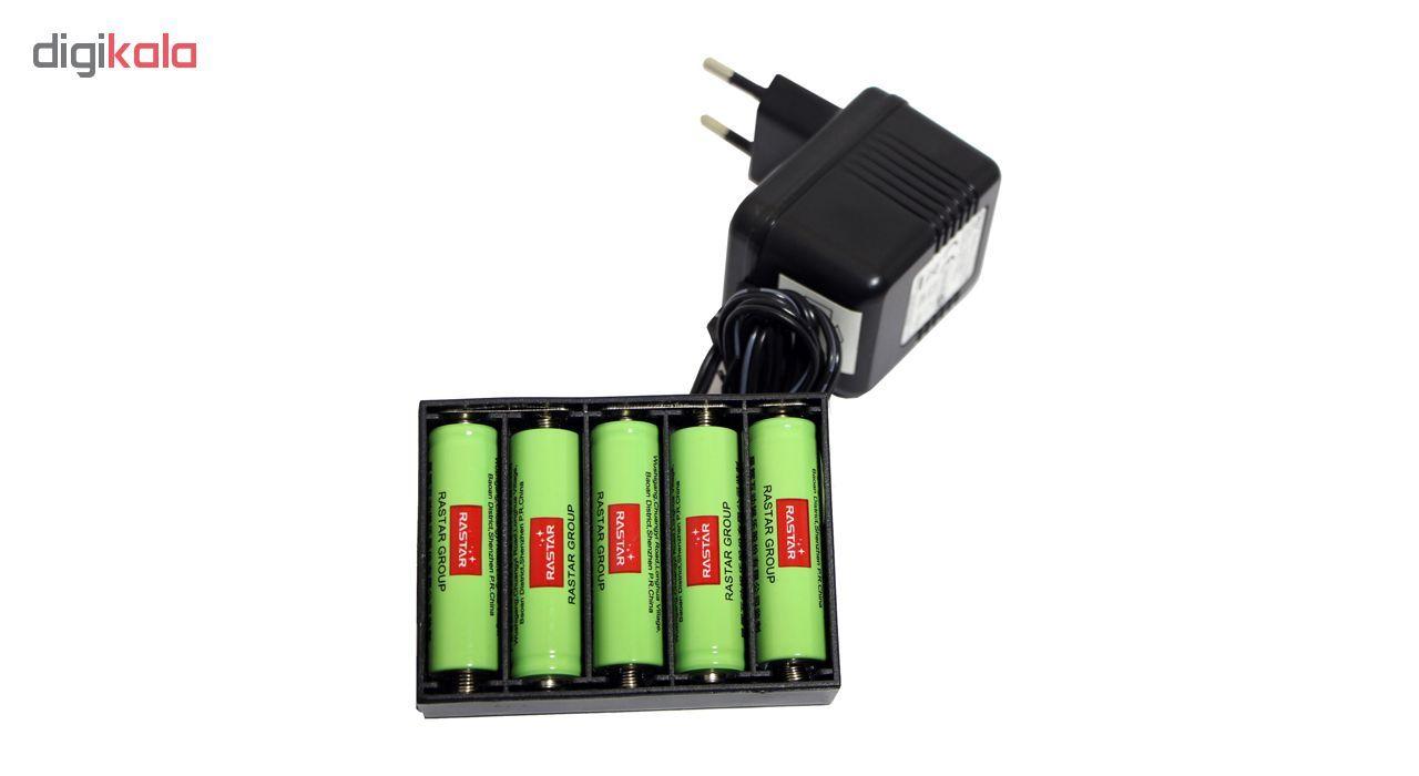 باتری قلمی رستار مدل RS-400mAh بسته 5 عددی به همراه شارژر باتری main 1 5