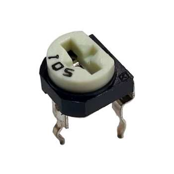 مقاومت پتانسیومتر 500 اهم کد WH06-2-501 بسته 10 عددی
