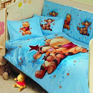 سرویس 8 تکه لحاف نوزادی پرکا مدل Baby Sweet Pooh
