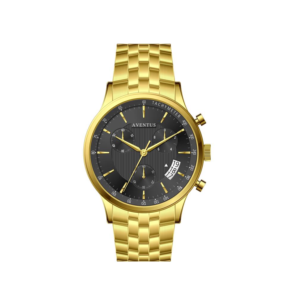 ساعت مچی عقربه ای مردانه اونتوس مدل 1350-2GBK 48