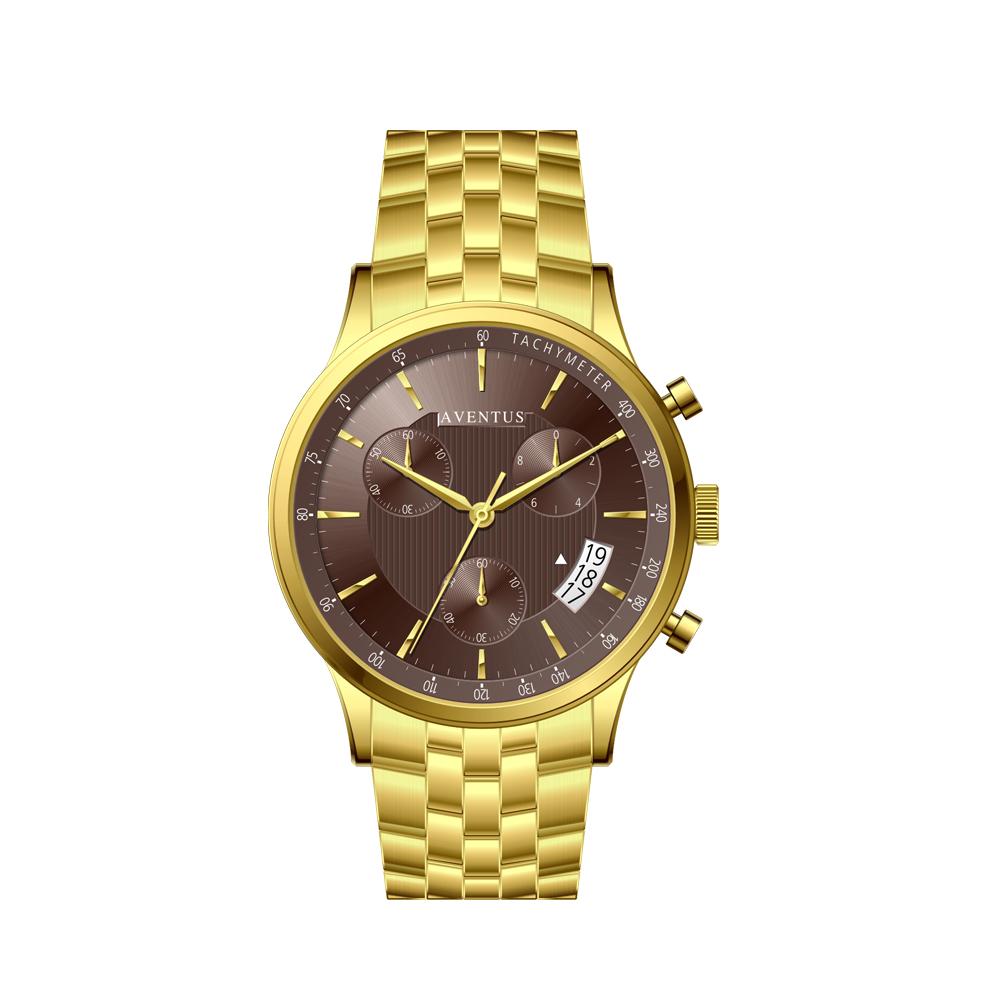 ساعت مچی عقربه ای مردانه اونتوس مدل 1350-2GBR 6