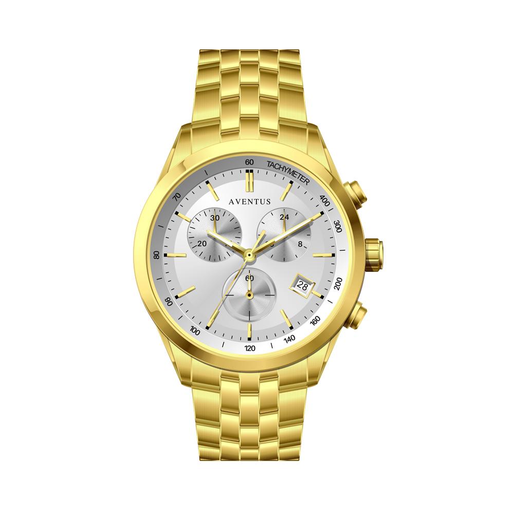 ساعت مچی عقربه ای مردانه اونتوس مدل 1351-2GWH