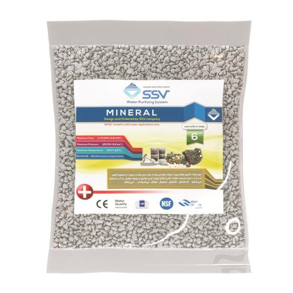 شارژ فیلتر تصفیه آب اس اس وی مدل Mineral بسته 340 گرمی