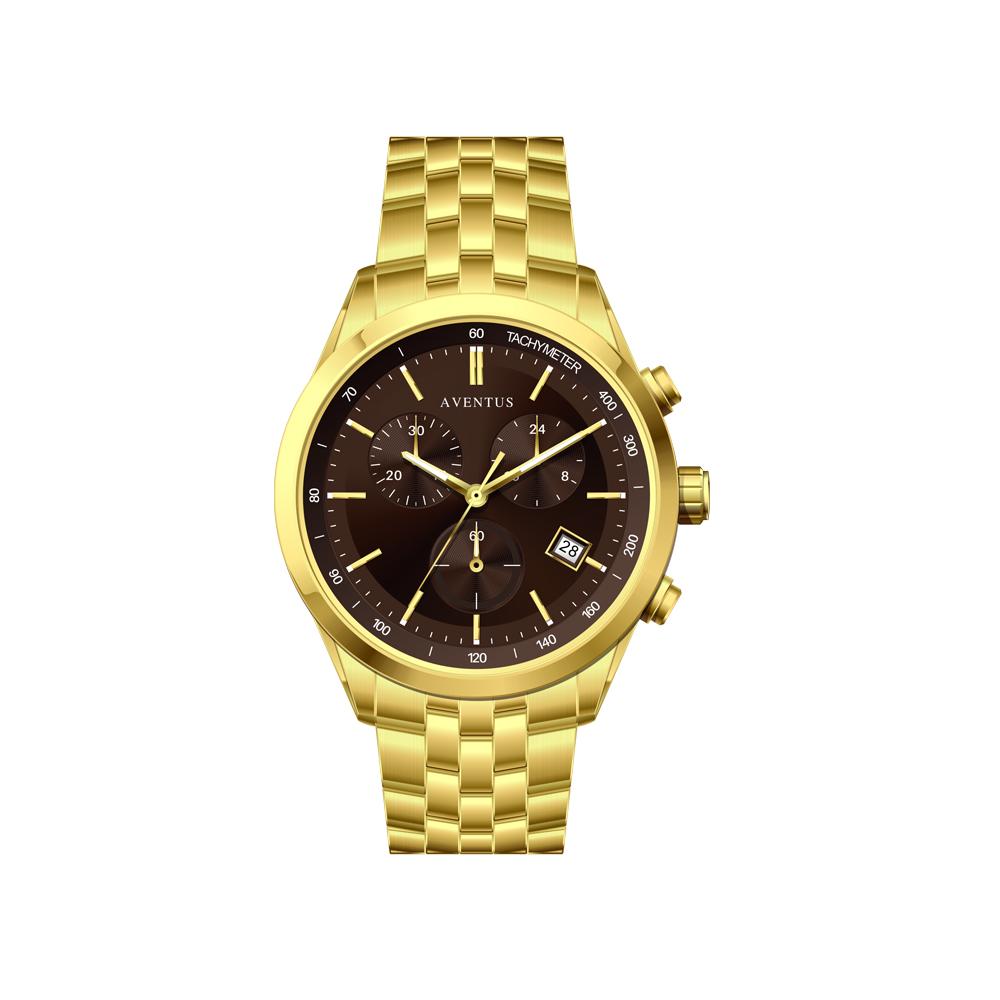ساعت مچی عقربه ای مردانه اونتوس مدل 1351-2GBR 3