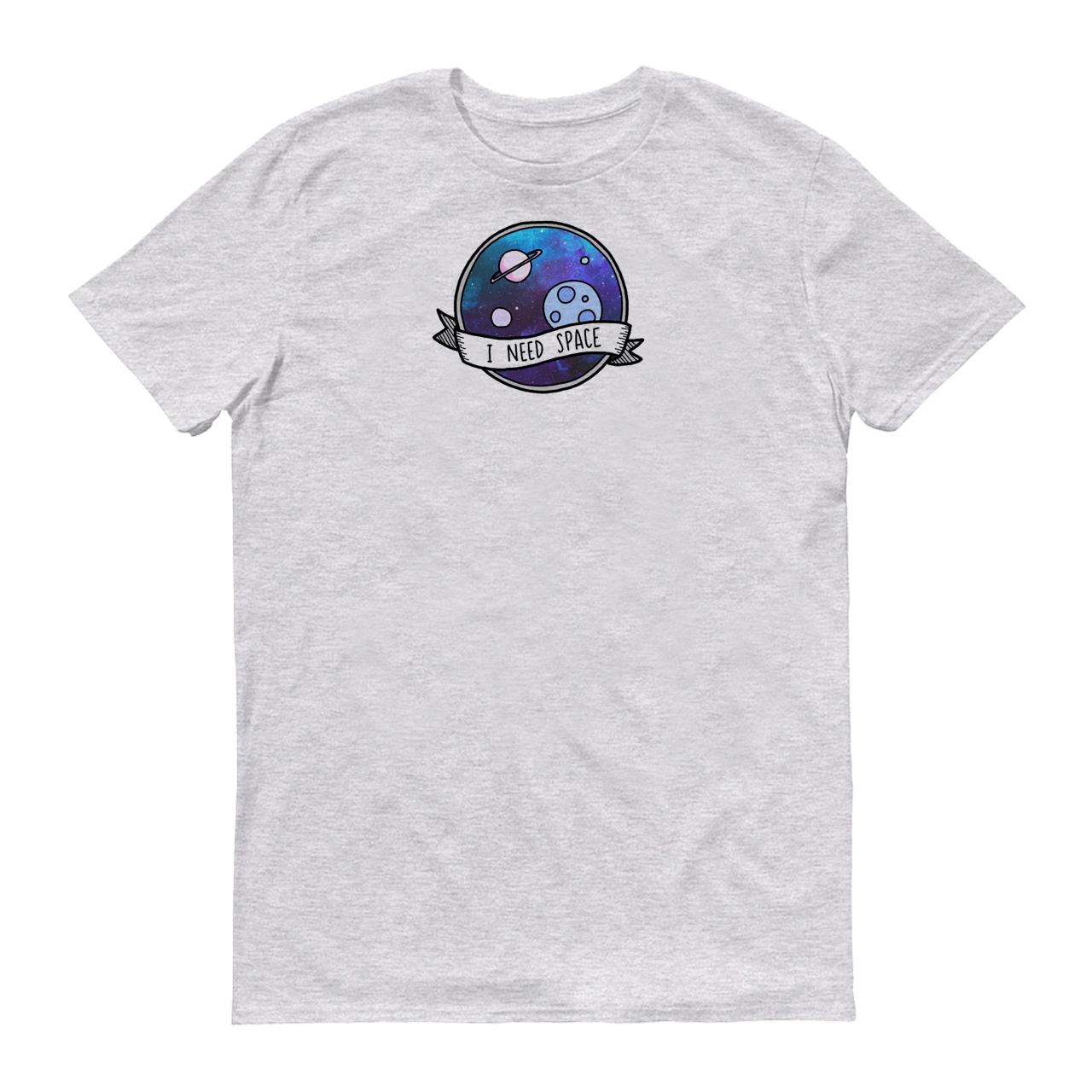 تی شرت زنانه طرح فضا کد 156-1