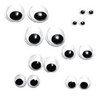 چشم عروسک مدل 101 بسته 16 عددی