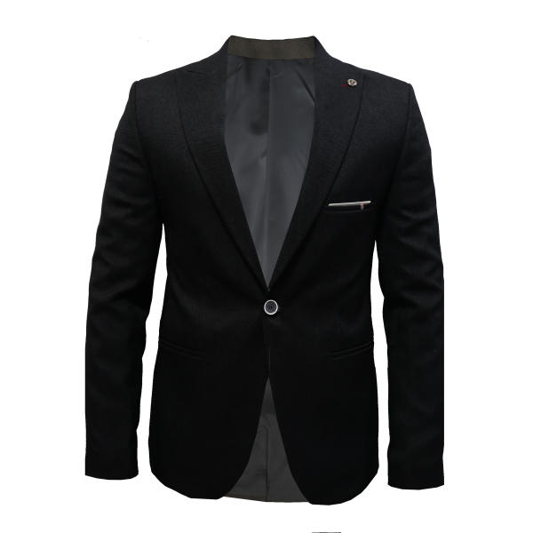 کت تک مردانه مدل black wide cont