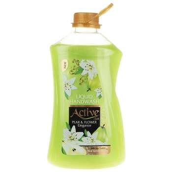 مایع دستشویی اکتیو مدل Pear & Flower مقدار 2500 گرم