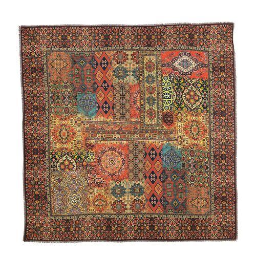 روسری زنانه طرح فرش کد 03