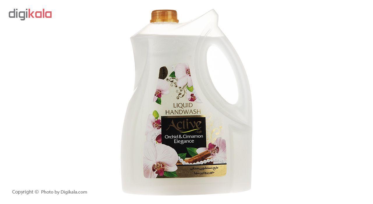 مایع دستشویی اکتیو مدل Orchid & Cinnamon مقدار 3750 گرم main 1 1