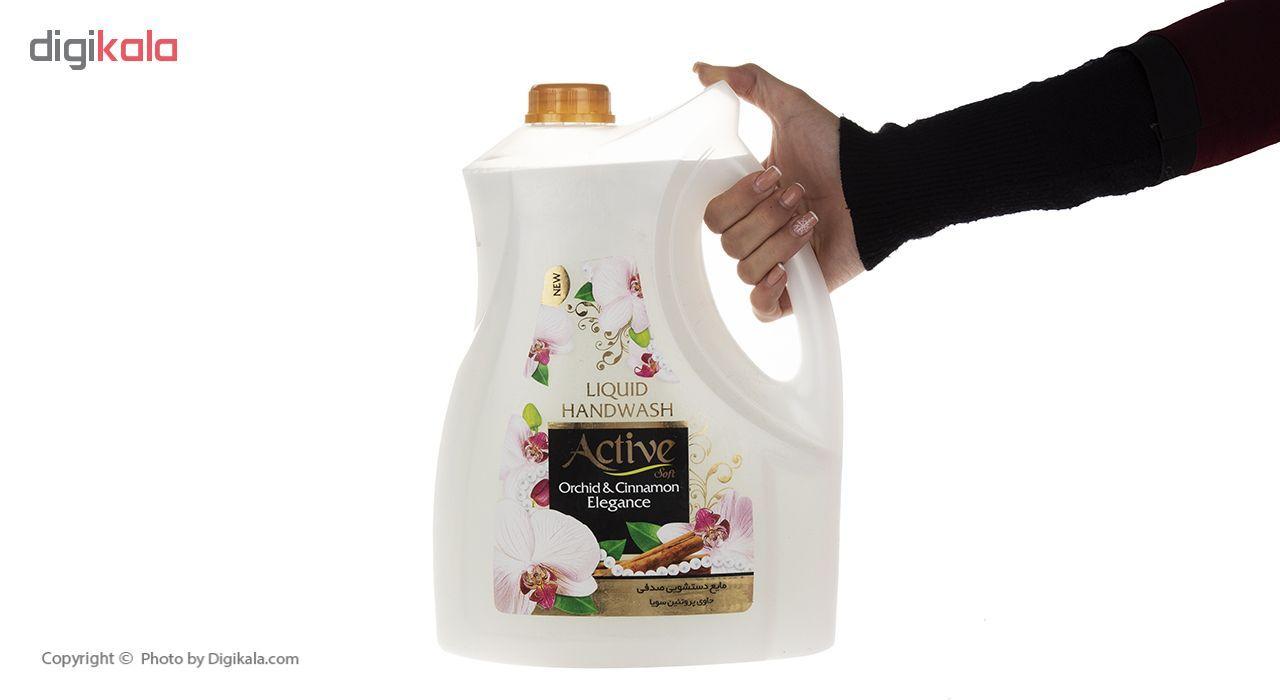 مایع دستشویی اکتیو مدل Orchid & Cinnamon مقدار 3750 گرم main 1 3