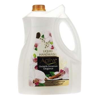 مایع دستشویی اکتیو مدل Orchid & Cinnamon مقدار 3750 گرم