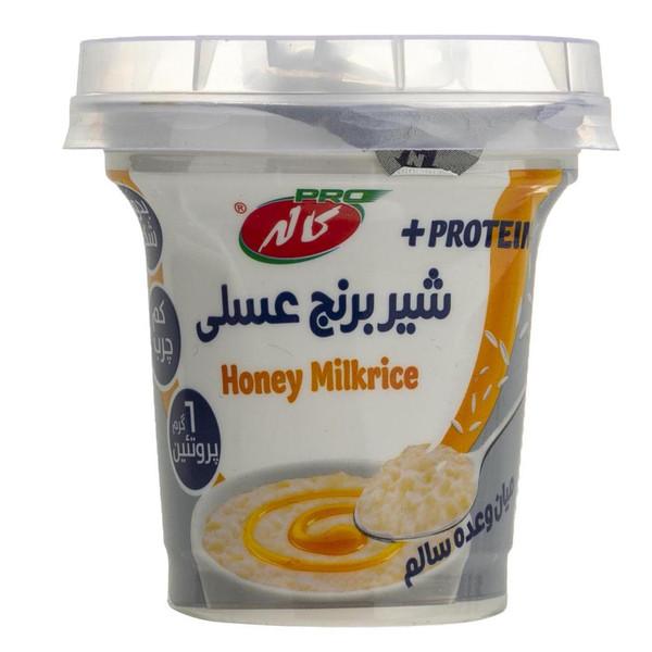 شیر برنج عسلی کاله مقدار 100 گرم