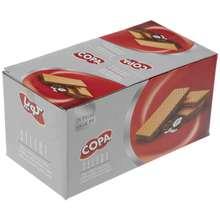 ویفر کوپا سلکت با مغزی نارگیل و کاکائو مقدار 45 گرم بسته 24 عددی