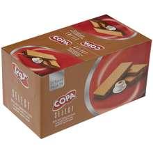 ویفر کوپا سلکت با کرم کاپوچینو مقدار 45 گرم بسته 24 عددی