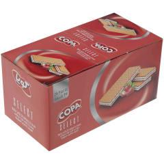 ویفر کوپا سلکت با کرم توت فرنگی مقدار 45 گرم بسته 24 عددی