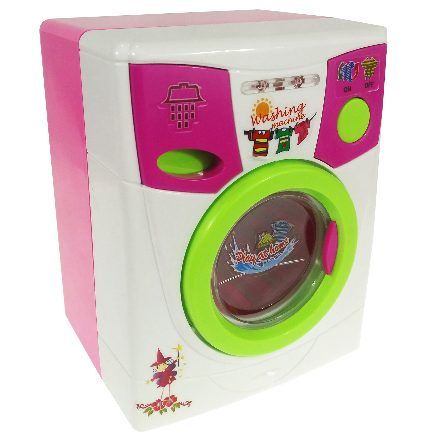 ماشین لباسشویی اسباب بازی مدل Beauty washer