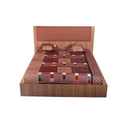 تخت خواب دو نفره لمکده مدل افس